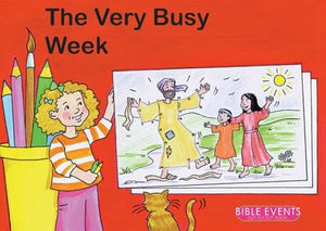 9781857928310-Bible Events: Very Busy Week, The (Dot to Dot Colouring Book)-Mackenzie, Carine