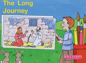 9781857928327-Bible Events: The Long Journey (Dot to Dot Colouring Book)-Mackenzie, Carine