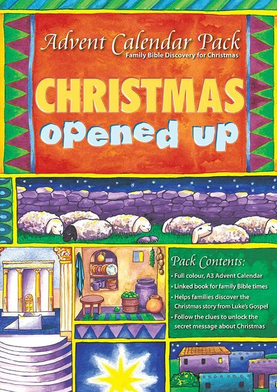 9781905564422-Christmas Opened Up Advent Calendar-Mitchell, Alison