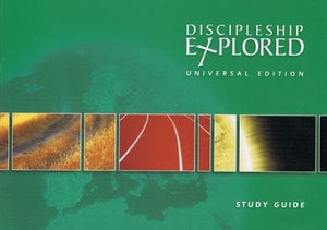 9781906334840-Discipleship Explored: Universal Edition Study Guide-Cooper, Barry