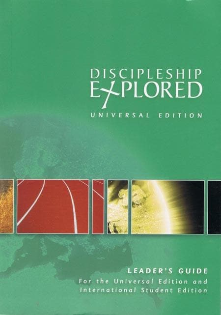 9781906334857-Discipleship Explored: Universal Edition Leader's Guide-Cooper, Barry