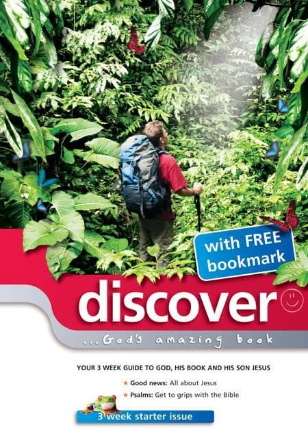 9781907377082-Discover Starter Issue 1: God's Amazing Book-Cole, Martin