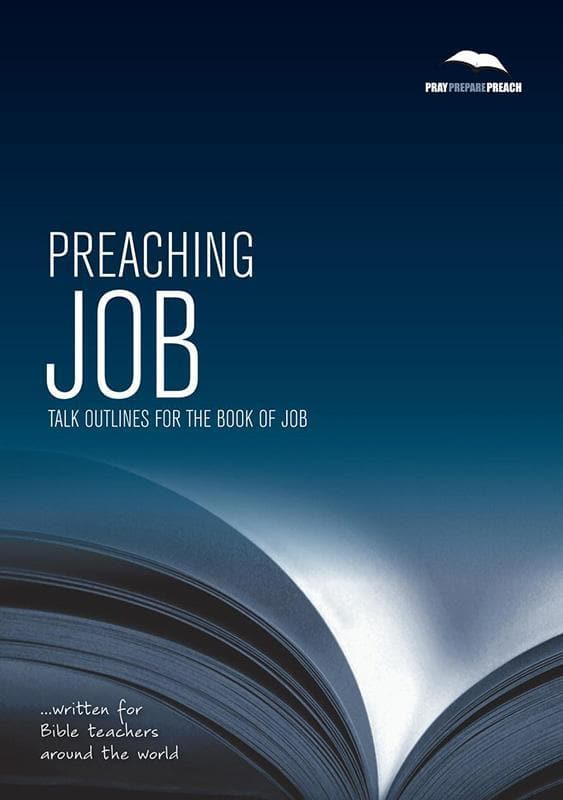 9781907377297-PPP Preaching Job: Talk outlines for the book of Job-Crowter, Phil