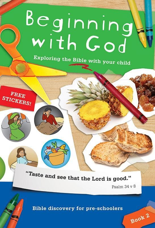 9781907377396-Beginning with God Book 2: Exploring the Bible with your child-Mitchell, Alison