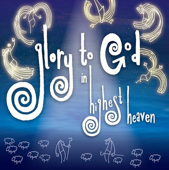 9781907377518-Glory to God in Highest Heaven Christmas Cards (6zf)-