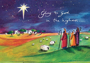 Glory to God in the Highest Christmas Cards (6zj)