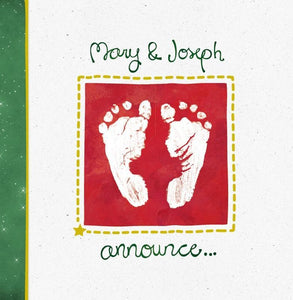 9781908762535-Mary and Joseph Announce Christmas Cards (6zl)-