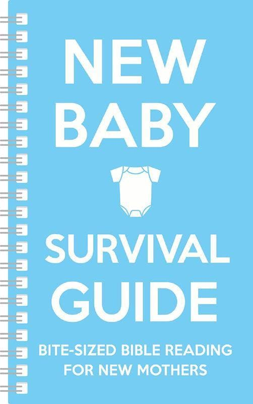 9781909559813-New Baby Survival Guide Blue: Bite-sized Bible reading for new mothers-Martin, Cassie; Smart, Sarah