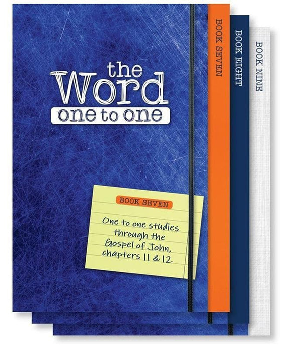 9781909611238-Word, The: One to One (John 11-17, Pk 3)-Borgonon, Richard; Taylor, William; Tice, Rico