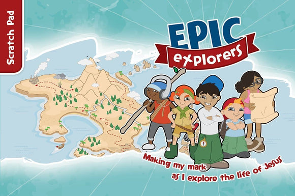 9781909919709-Epic Explorers Scratch Pad (4-7 years)-Pollard, Tamar & Locke, Nate Morgan