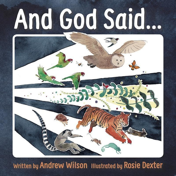 9781910587959-And God Said…-Wilson, Andrew