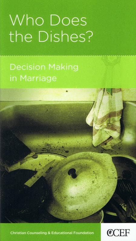 9781934885321-NGP Who Does the Dishes: Decision Making in Marriage-Smith, Winston