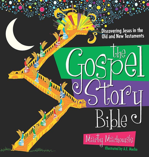 9781936768127-Gospel Story Bible, The: Discovering Jesus in the Old and New Testaments-Machowski, Marty