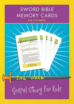 9781936768769-Sword Bible Memory Cards Old Testament: Gospel Story for Kids Curriculum-Machowski, Marty