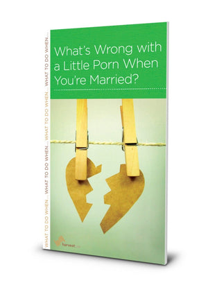 NGP What's Wrong With a Little Porn When You're Married? by Black, R. Nicholas (9781936768943) Reformers Bookshop