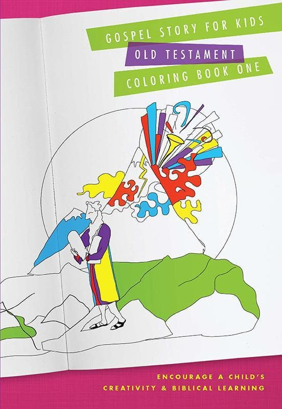 9781939946492-Old Testament Coloring Book: Gospel Story for Kids Curriculum-Machowski, Marty