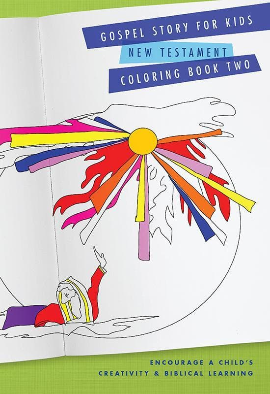 9781939946508-New Testament Coloring Book: Gospel Story for Kids Curriculum-Machowski, Marty