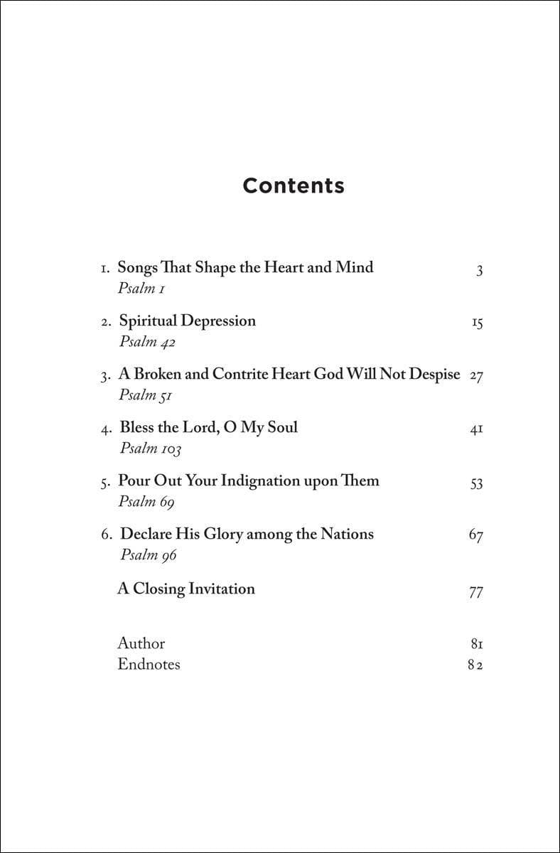 Shaped By God: Thinking and Feeling in Tune with the Psalms