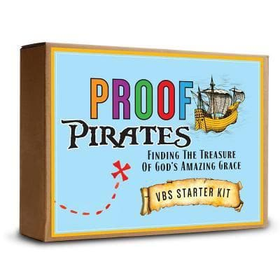 Proof Pirates: Finding the Treasure of God's Amazing Grace VBS Starter Kit