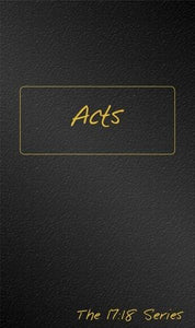 Acts - Journible The 17:18 Series