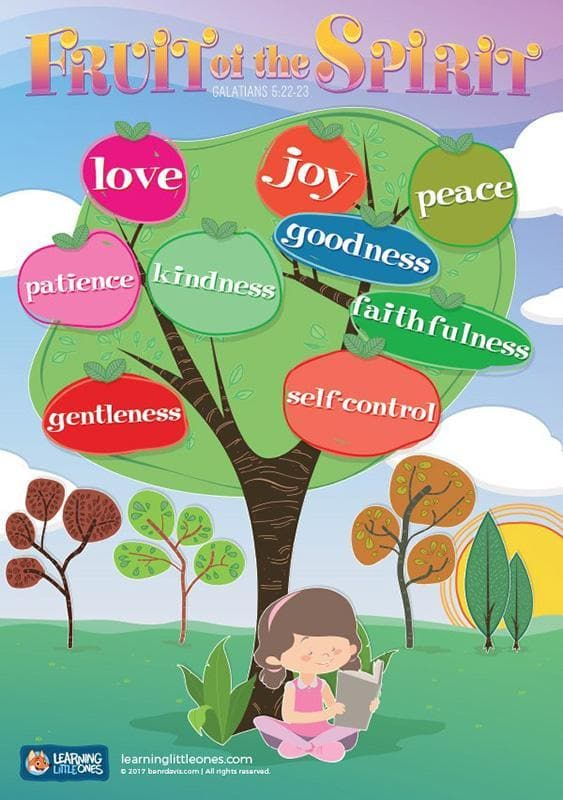 bd06-Fruit of the Spirit A3 Poster-Davis, Ben R
