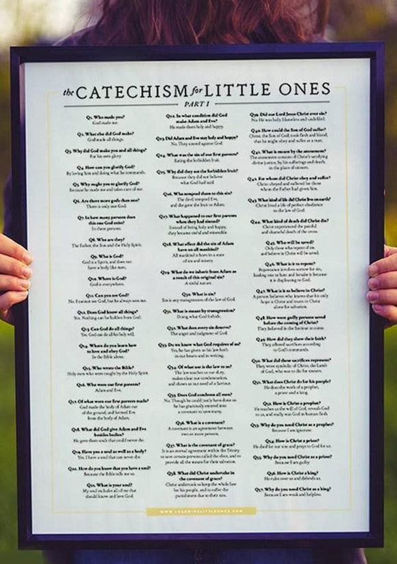 Catechism for Little Ones Poster Part 1