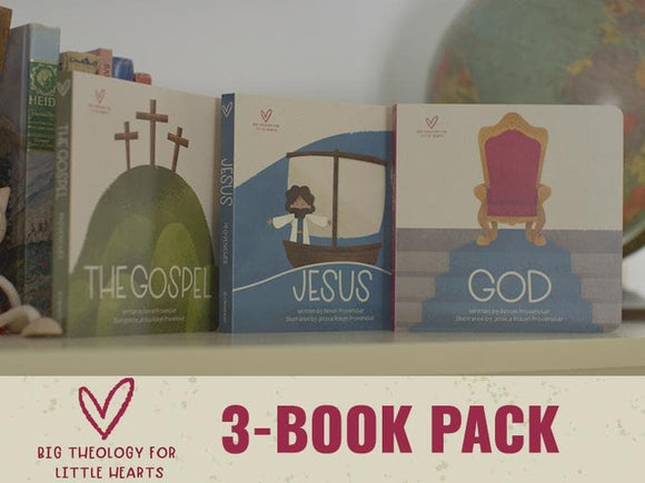 BTLH Big Theology for Little Hearts: 3 Book Pack