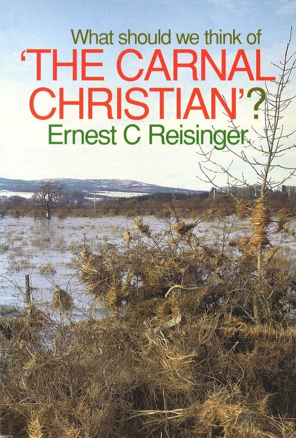 What Should We Think of Carnal Christian? | Reisinger | 9780851513898
