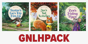 Good News for Little Hearts 3-Pack (Buster, Jax & Zoe) by Powlison, David & Welch, Edward T. (GNLHPACK) Reformers Bookshop