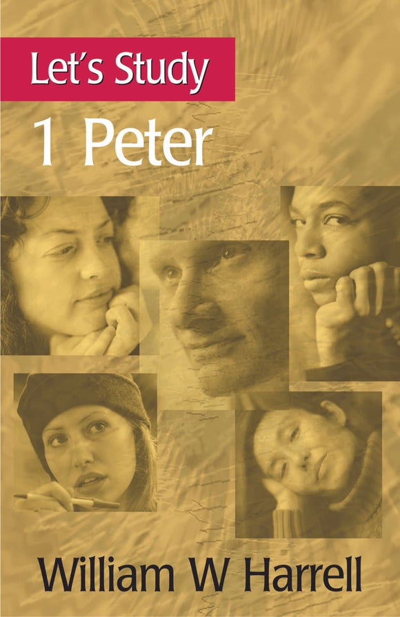 Let's Study 1 Peter | Harrell William H | 9780851518688
