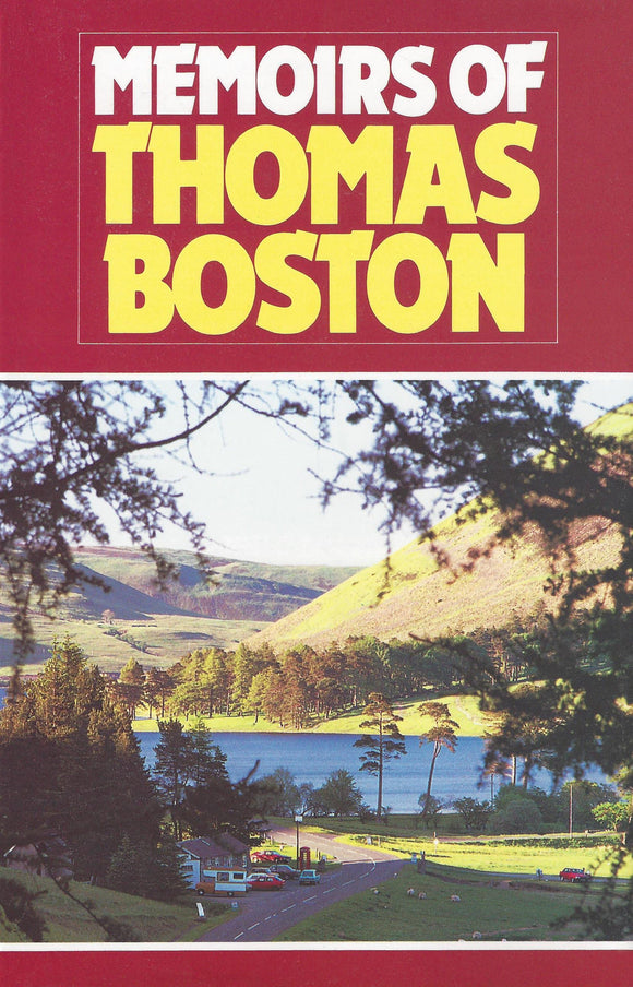 Memoirs Of Thomas Boston | Boston Thomas | 9780851515281
