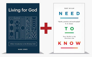New Christians Pack: Living for God & Need to Know by Jones, Mark; Millar, Gary (NEWCHRISTIAN) Reformers Bookshop