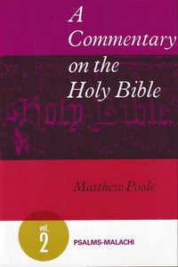 A Commentary on the Holy Bible | 9780851511344