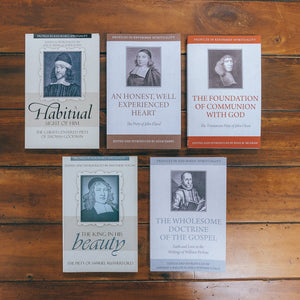 Profiles in Reformed Spirituality Pack 2: Puritans (5 Volumes) by Various (ProfilesPack2) Reformers Bookshop