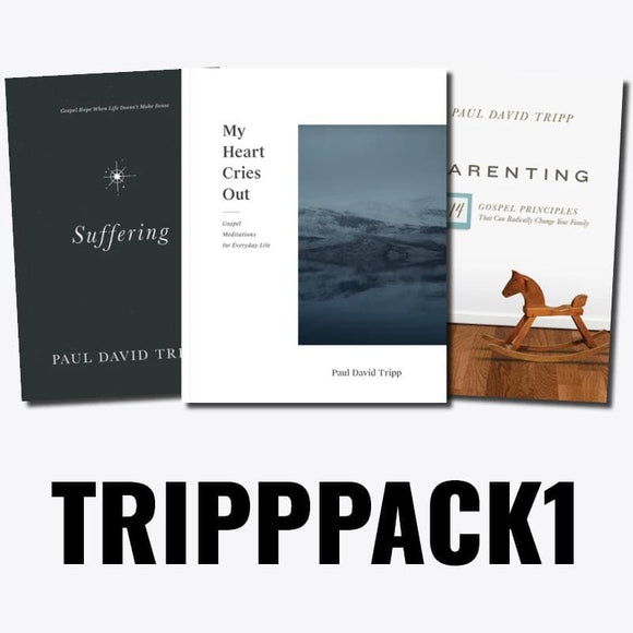 Paul Tripp Book Pack 1: My Heart Cries Out, Suffering & Parenting