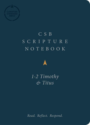 CSB Scripture Notebook, 1-2 Timothy and Titus by Bible (9781087722658) Reformers Bookshop