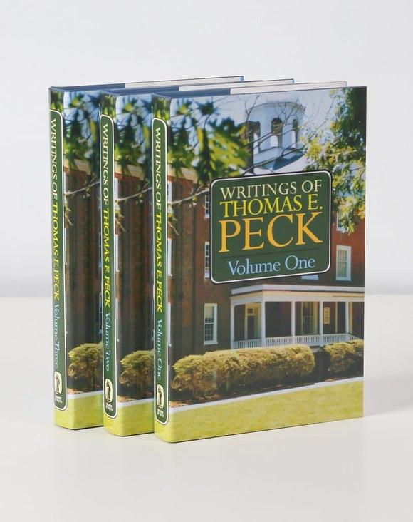 The Writings of Thomas Peck | Peck Thomas | 9780851517704