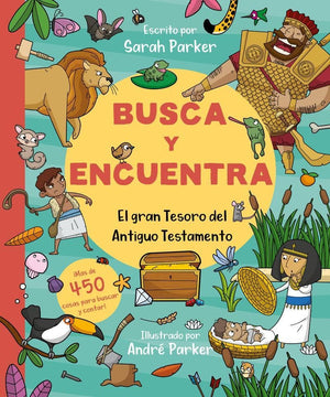 Busca y encuentra (Spanish) by Parker, Sarah (9781950417131) Reformers Bookshop