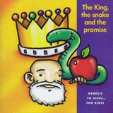9331213000039-King, the Snake & the Promise, The: Genesis to Jesus… For Kids-Emu Music