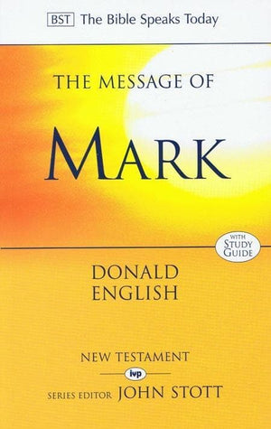 9780851109688-BST Message of Mark-English, Donald