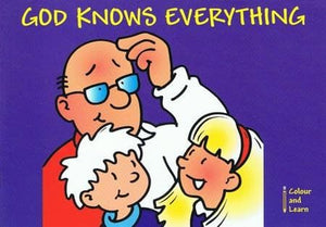 9781857926361-Colour and Learn: God Knows Everything-Mackenzie, Carine