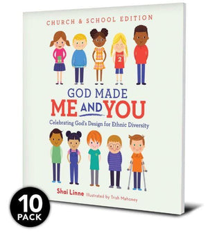 God Made Me and You (School and Church Edition - 10 pack) by Linne, Shai (13024) Reformers Bookshop