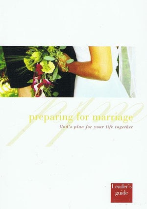 9781905564361-Preparing for Marriage Leader's Guide-Jackson, Pete