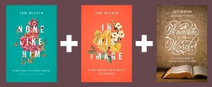 Jen Wilkin Pack 2: None Like Him, In His Image and Women of the Word by Wilkin, Jen () Reformers Bookshop