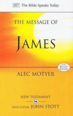 9780851115795-BST Message of James-Motyer, Alec