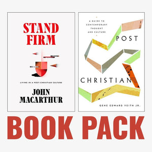Stand Firm & Post-Christian Book Pack by MacArthur, John & Veith Jr., Gene Edward (sfpcpack) Reformers Bookshop