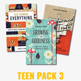 Teen Pack 3: Growing in Godliness, Transformed by Truth, This Changes Everything by Various (TEENPACK3) Reformers Bookshop