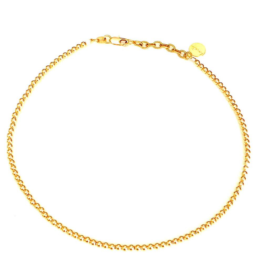 3mm 14kt Gold-Filled Choker