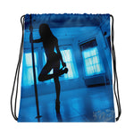 Pole Dance Drawstring bag