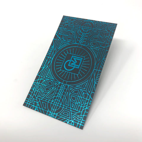 Foil Business Cards by Tower Press